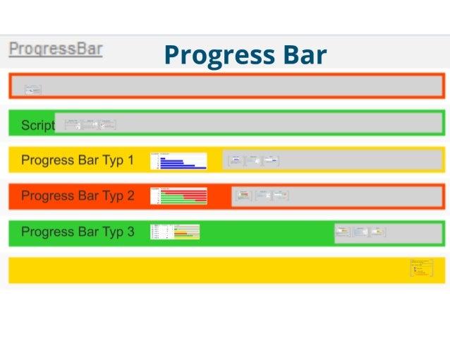 SharePoint Lesson #28: Visualisation of a Progress Bar