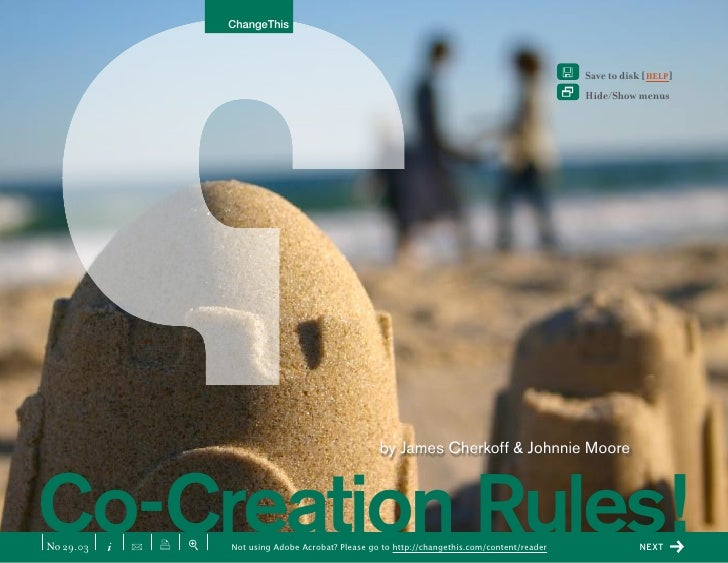 Co-Creation Rules!