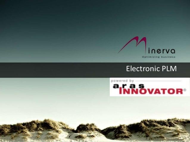 Minerva Aras PLM for Electronics