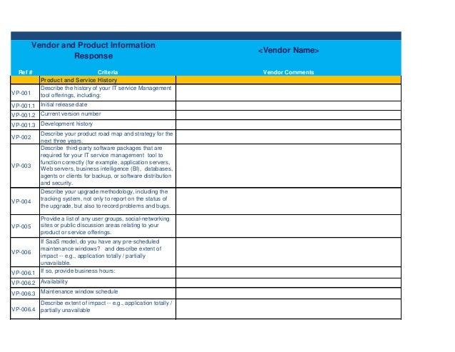 Bid Calendar Templateoposal Management Process It Service Desk