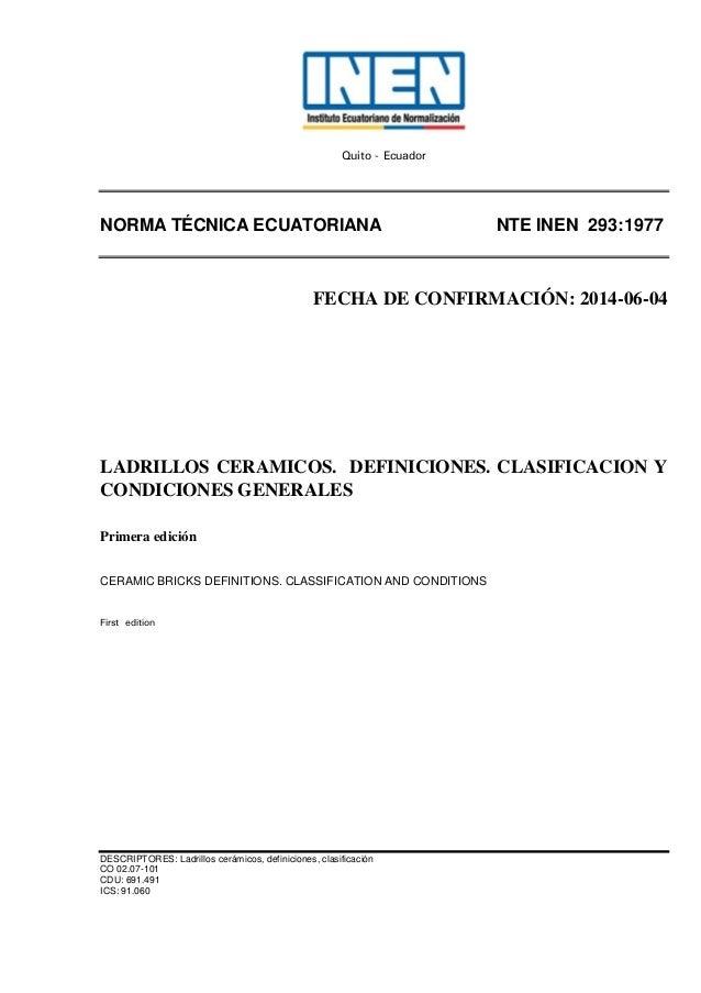 293 ladrillos - Clases de ladrillos ...