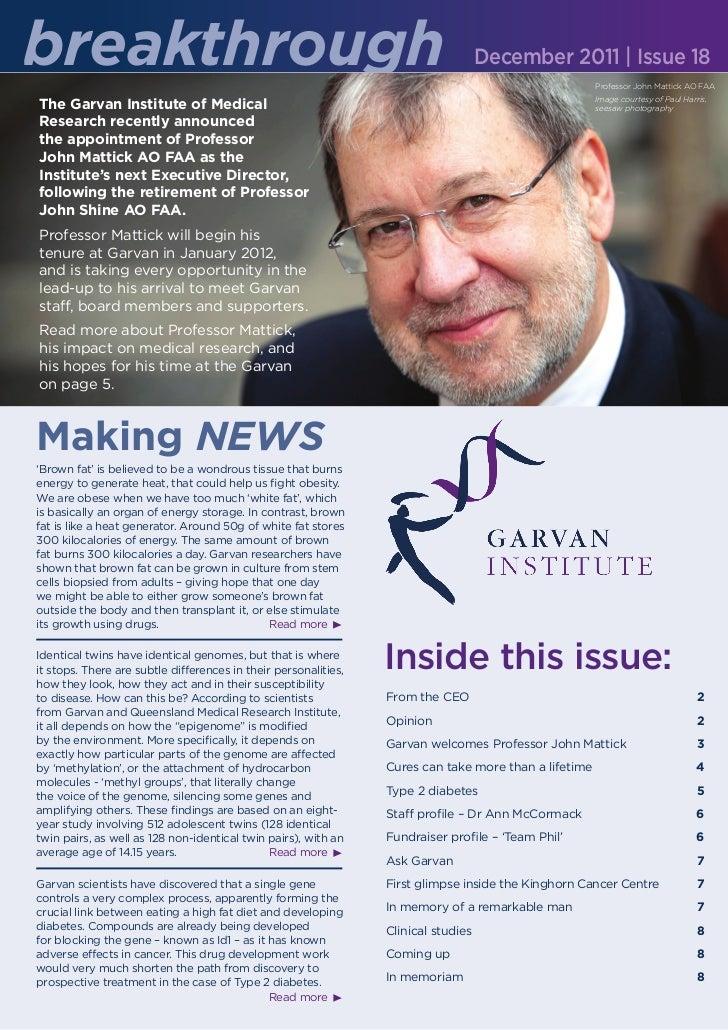Garvan breakthrough_dec_issue