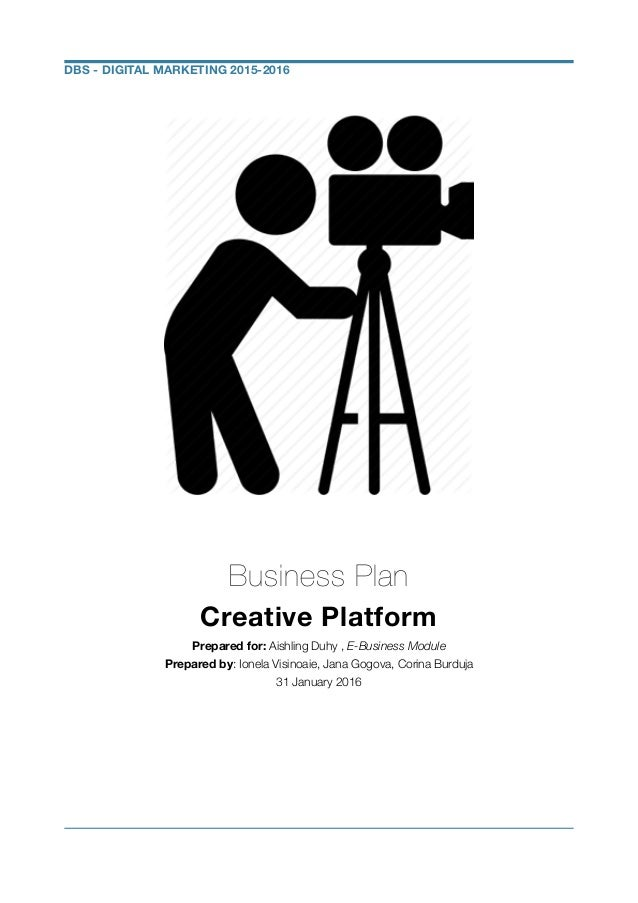Videography business plan