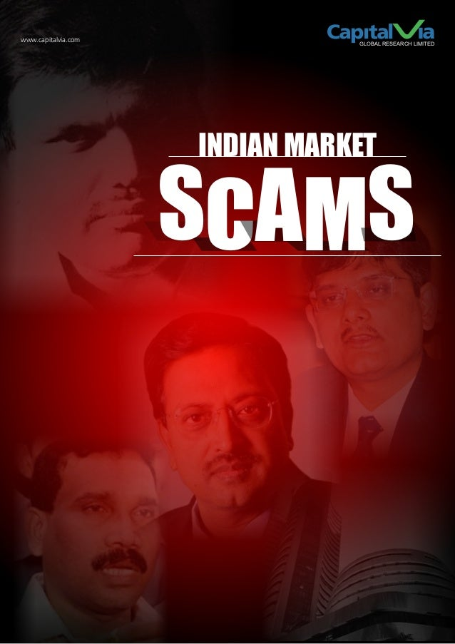 www.capitalvia.com              GLOBAL RESEARCH LIMITED                     INDIAN MARKET                     SCAMS