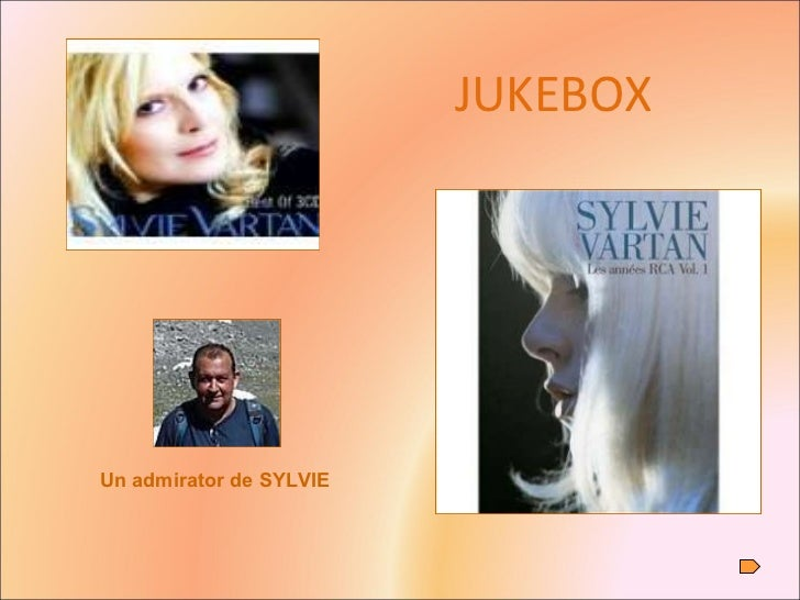 JUKEBOX Un admirator de SYLVIE