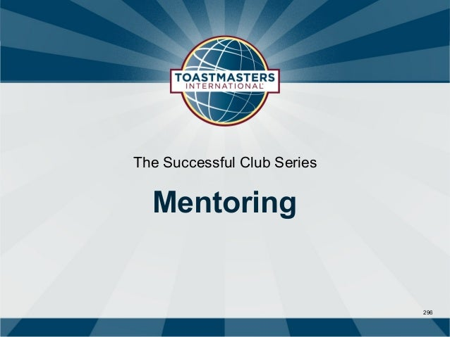 The Successful Club Series  Mentoring                             296