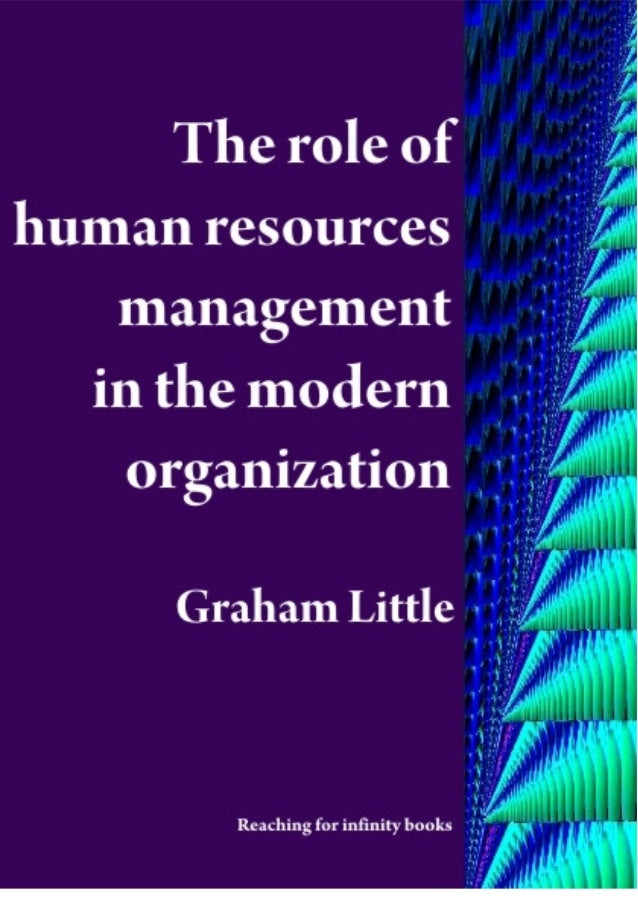 the role of human resources in londis There are several factors in the changing function of hr in today's workforce,  including modernized duties at companies, the use of technology.