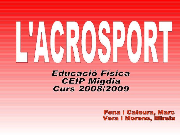 L'ACROSPORT