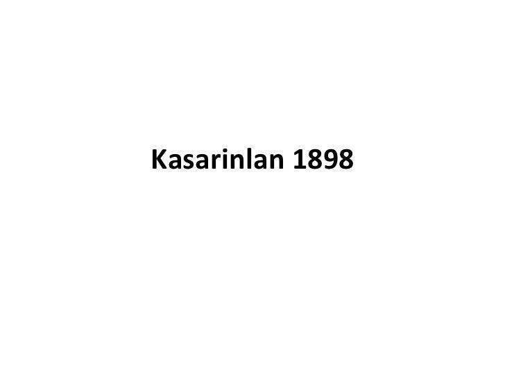 Kasarinlan 1898