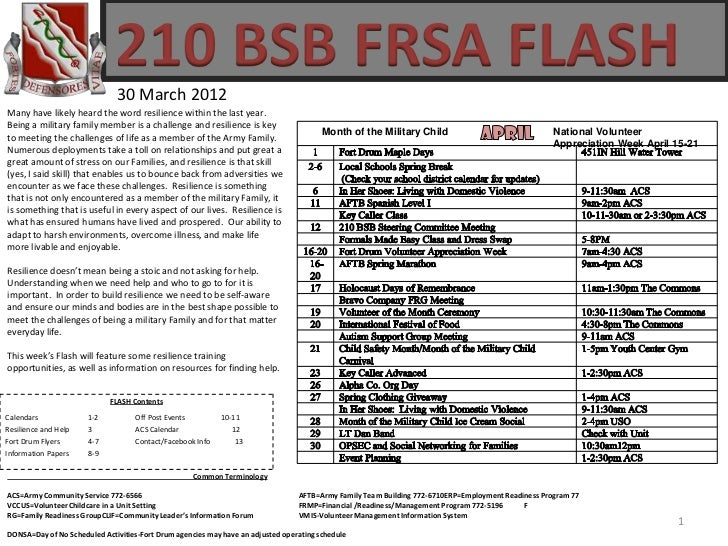 210 BSB FRSA FLASH                              30 March 2012Many have likely heard the word resilience within the last ye...