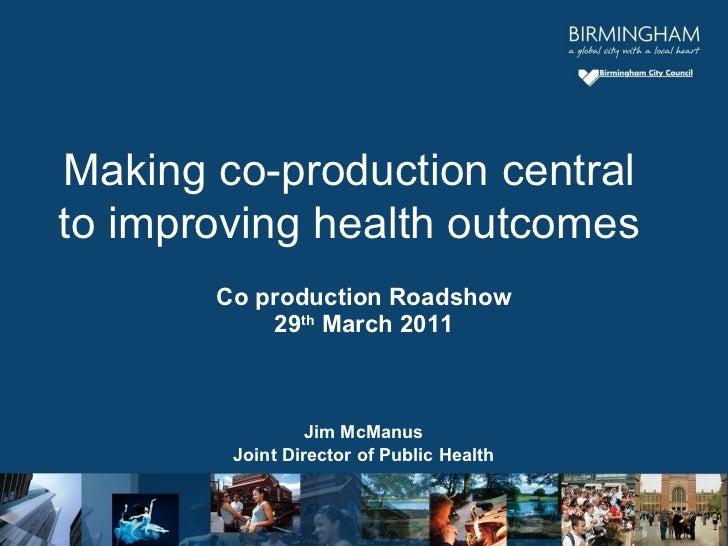 29 March Nesta Co Production Workshop Mc Manus