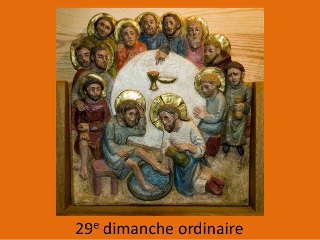 29e dimanche ordinaire