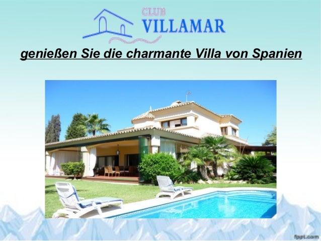 genießen Sie die charmante Villa von Spanien