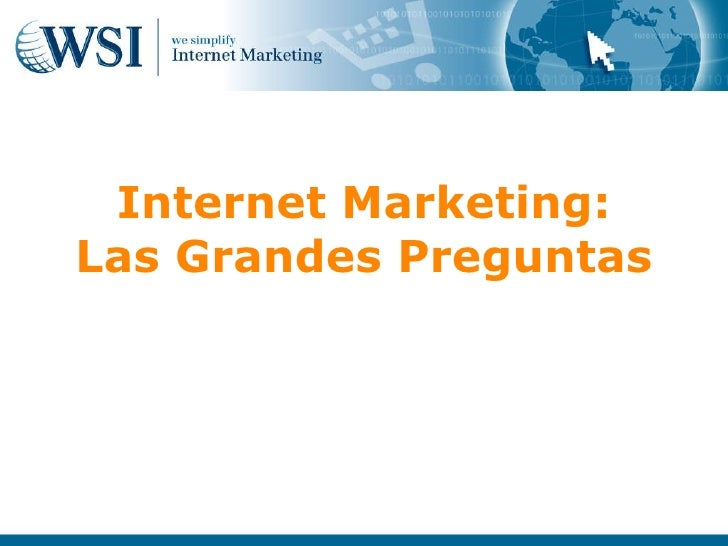 Qué es Internet Marketing
