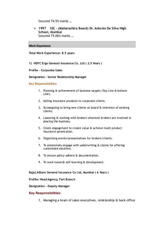 Dissertation report on bancassurance