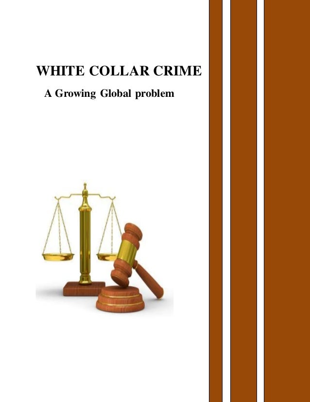 White collar crime essay