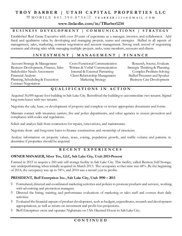 barber troy resume jan 2015