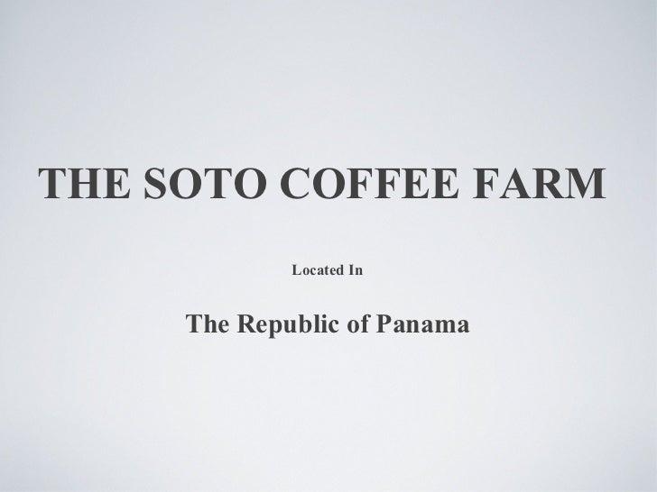 coffee farm presentation