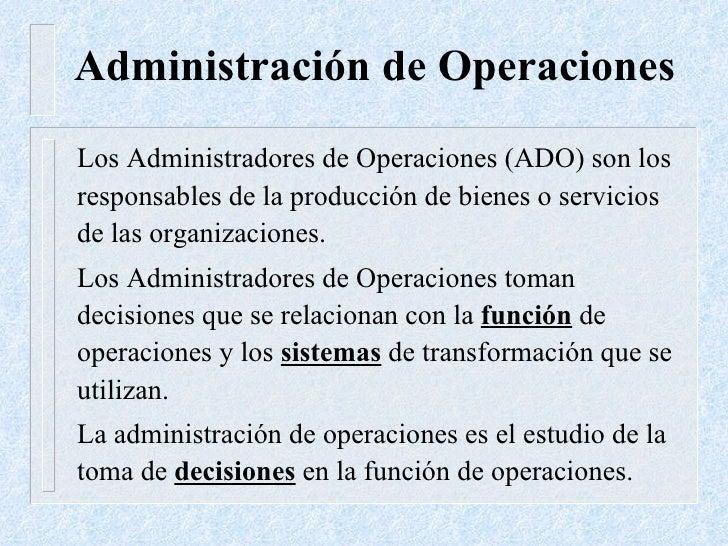 Adm  De Operaciones