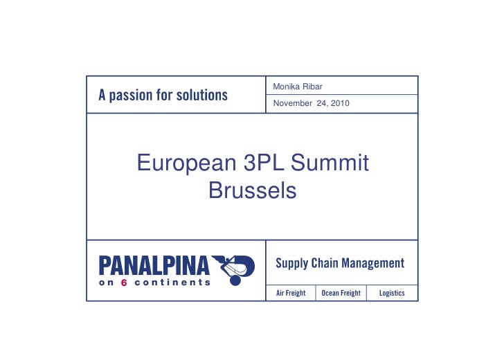 Monika Ribar from Panalpina on 'The Recession Lessons That Will Endure'