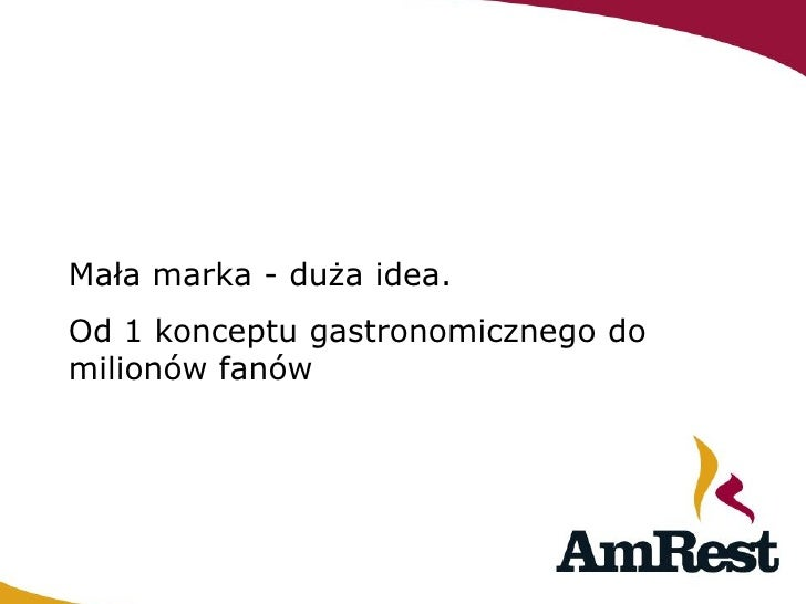Anna Robotycka AMREST.PL