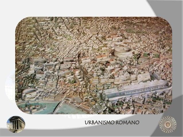URBANISMO ROMANO
