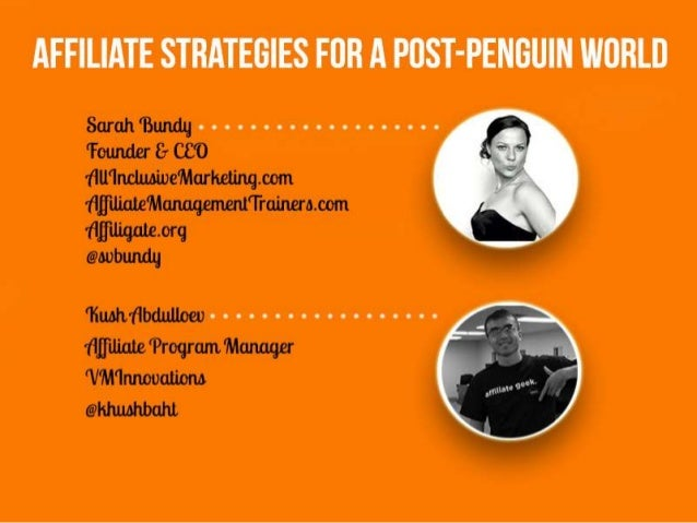 Affiliate Strategies for a Post-Penguin World