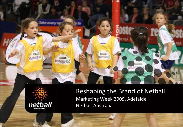 Reshaping the Brand of Netball Marketing Week 2009, Adelaide Netball Australia