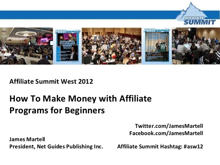 Making Money With Affiliate Programs for Beginners