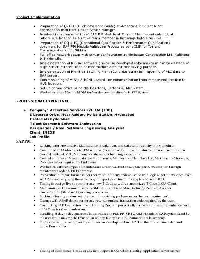 qa consultant resumes