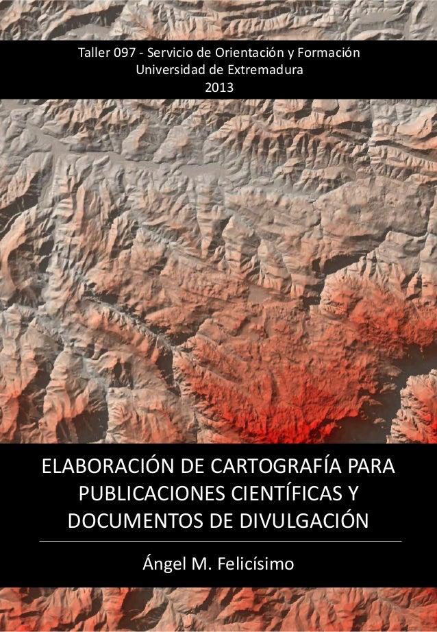 Elaboración de mapas para publicaciones científicas y documentos de divulgación