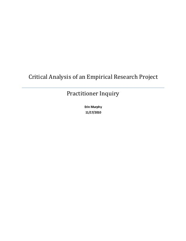 How to do one approach & write an analytical research paper?