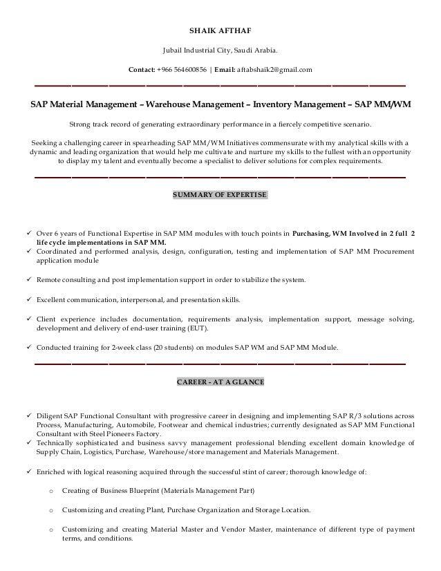sap sd resume sample for fresher contegri com