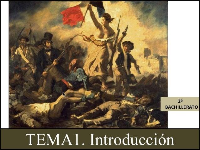 2º BACHILLERATO  TEMA1. Introducción