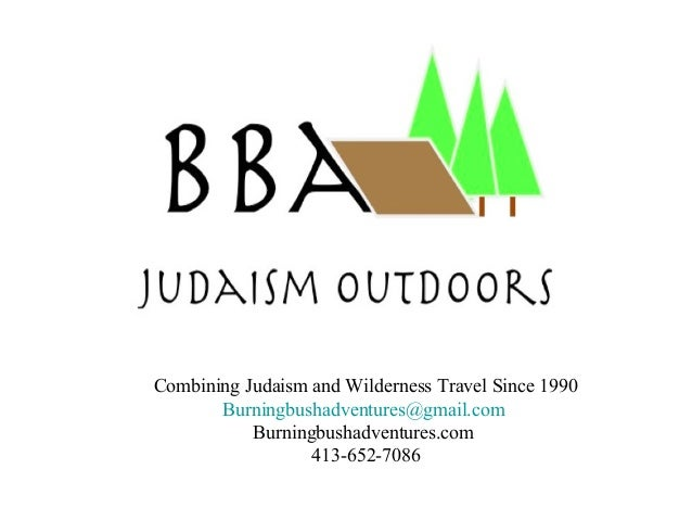 Judaism Outdoors