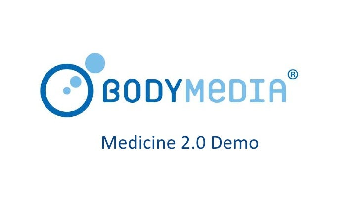 Quantified Self and the Self-tracking Patient (Body Media)