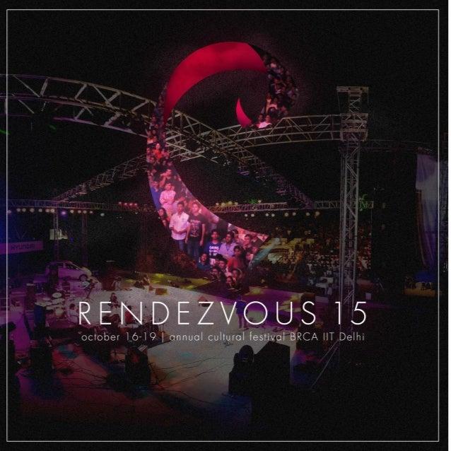 Rendezvous 2015 Brochure