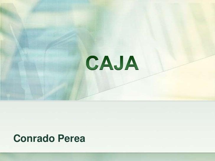 Conrado Perea