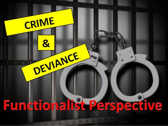 What is the Structural-Functionalist view of crime?
