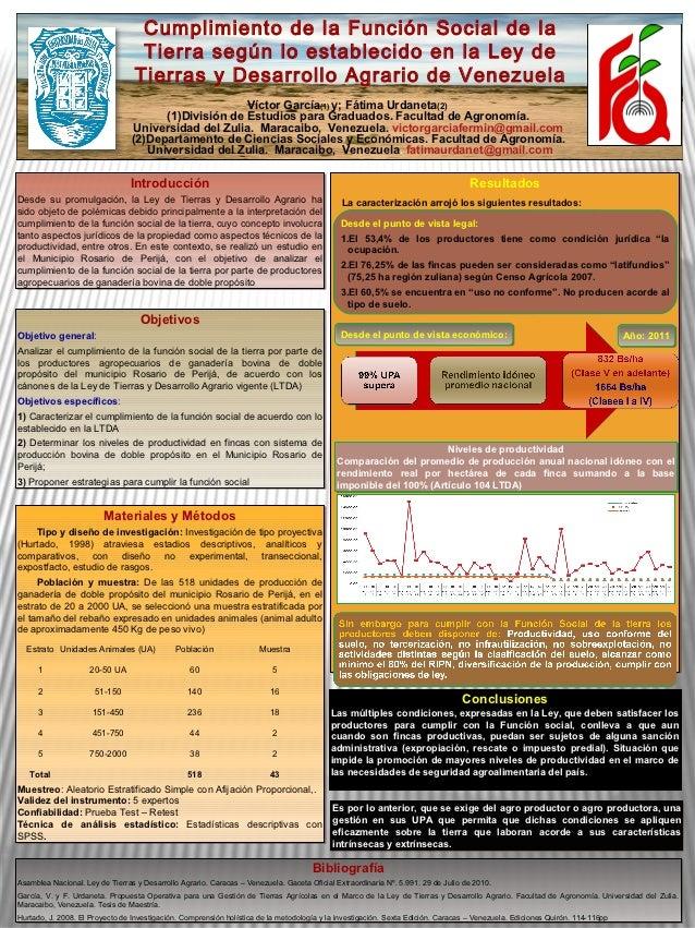 Jornadas Científicas de Agronomía (LUZ) - 2012