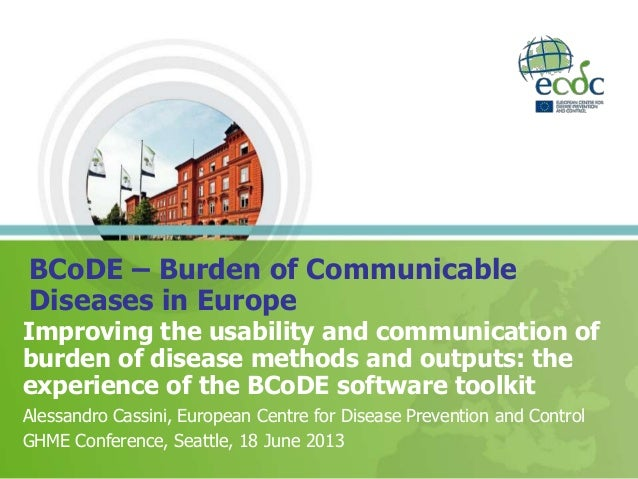 BCoDE – Burden of Communicable Diseases in Europe