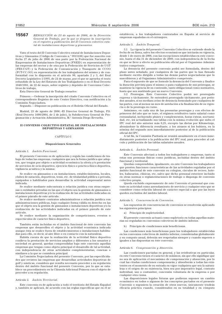 II Convenio colectivo estatal