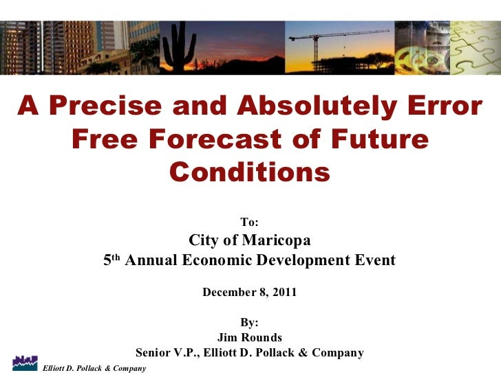 Jim Rounds - Economic Outlook for Maricopa Event