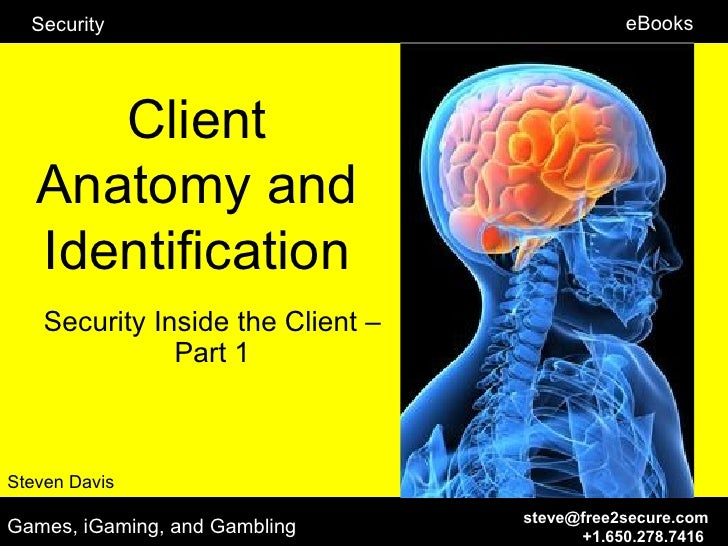 Security                                    eBooks      Client   Anatomy and   Identification    Security Inside the Clien...