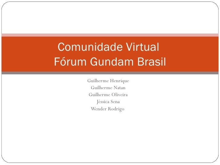 Grupo Azul- Comunidades Virtuais
