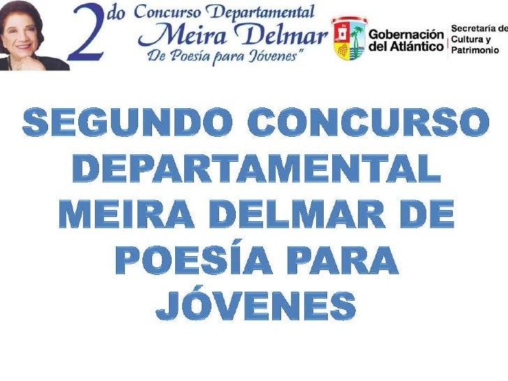 48 • ParticipantesConcurso      • Poemas Recibidos  2001     87           11 • Municipios