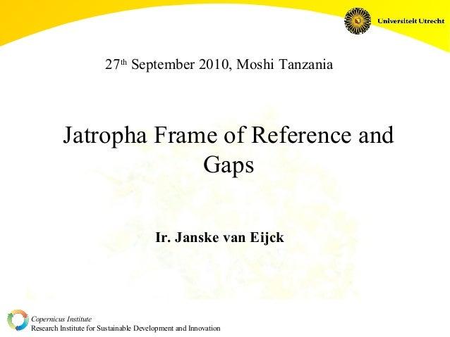 27 september 2010- 2 copernicus institute