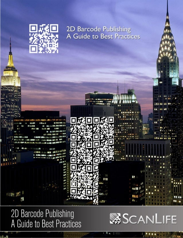 2D barcode publishing a guide to best practices
