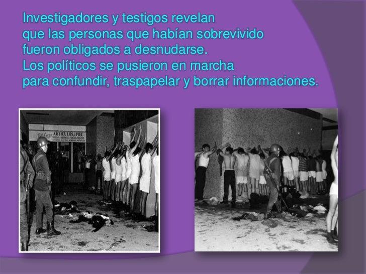 de octubre matanza de tlatelolco