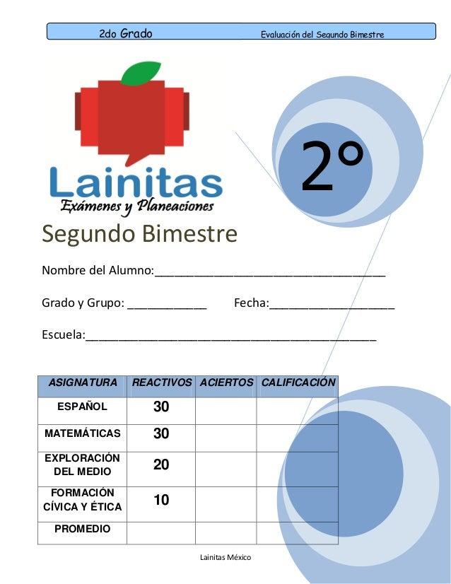 Examen 5 Grado Tercer Bloque | apexwallpapers.com